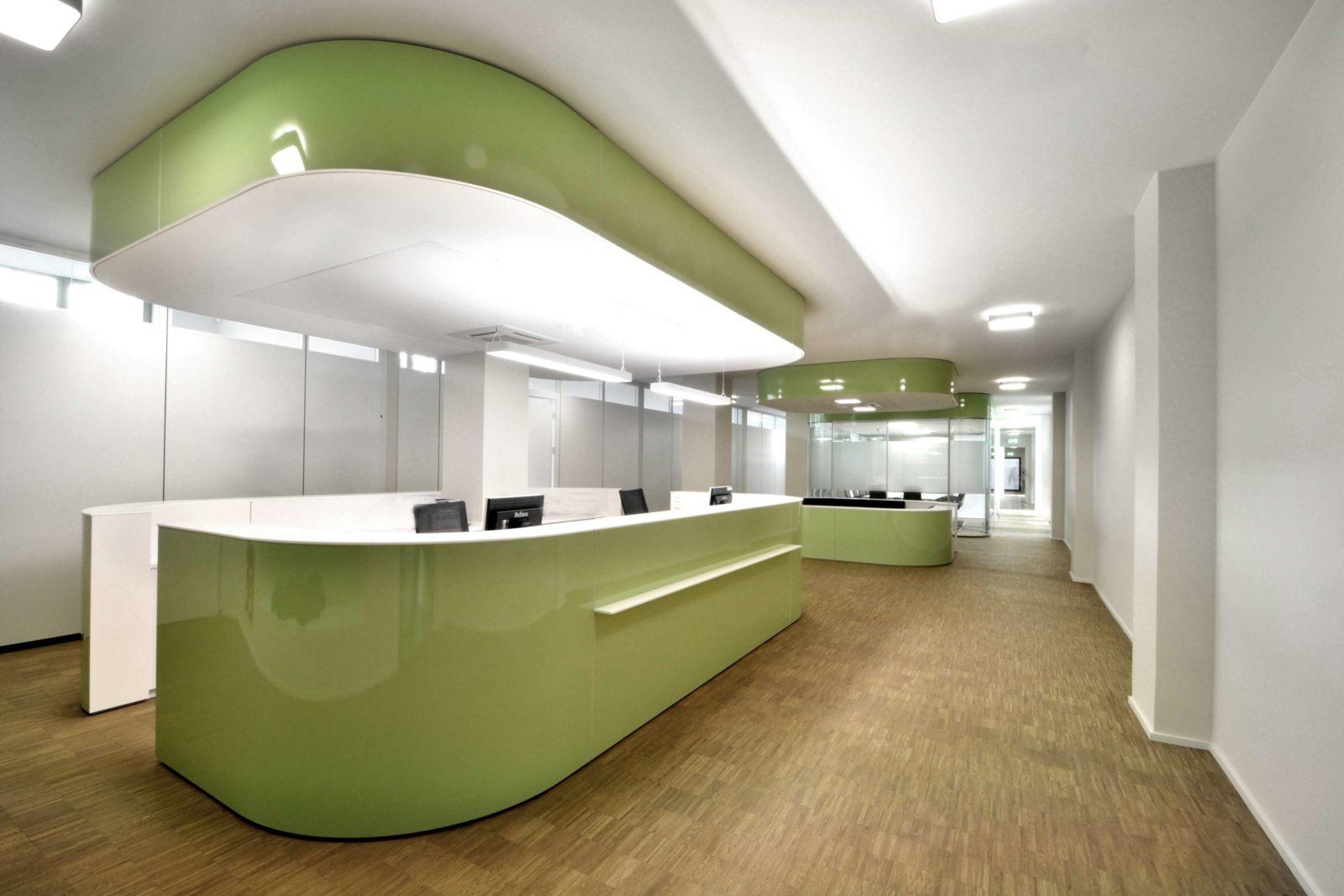 Labor- und Geschäftsräume DBI-gut Leipzig - Eingangsbereich