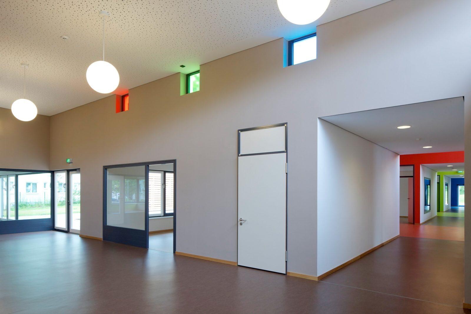 Kita Mosenthinstraße Spielhof Foyer