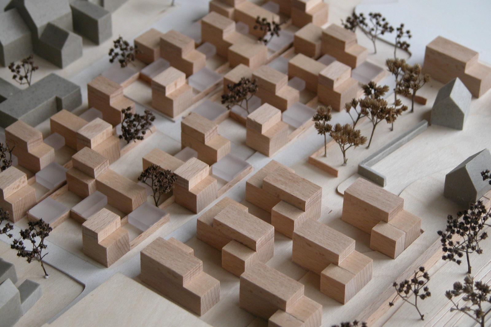 Wohnen an der Stadtmauer Bad Langensalza - Modell