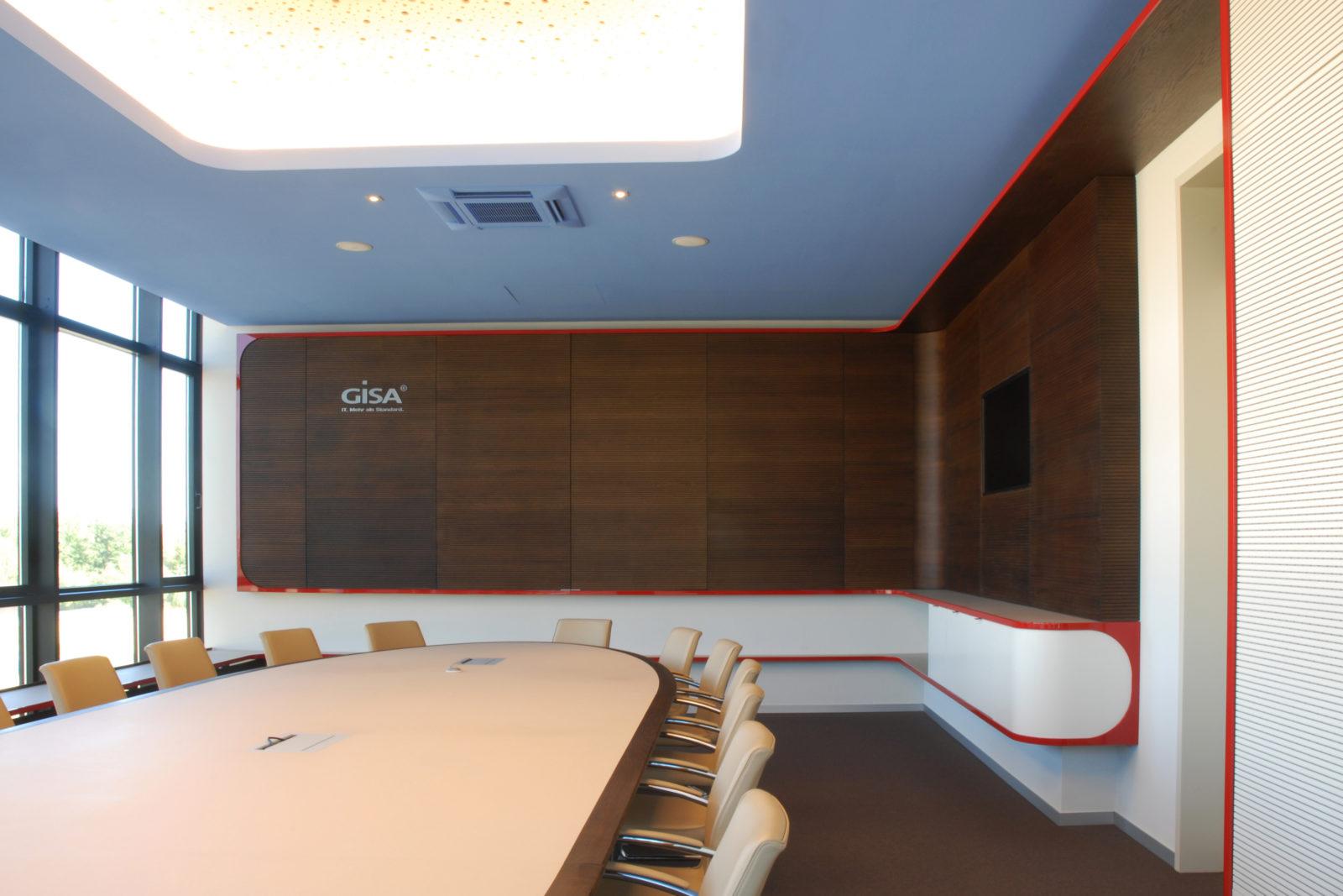 Neugestaltung Geschäftsräume GiSA GmbH in Halle - Konferenzraum
