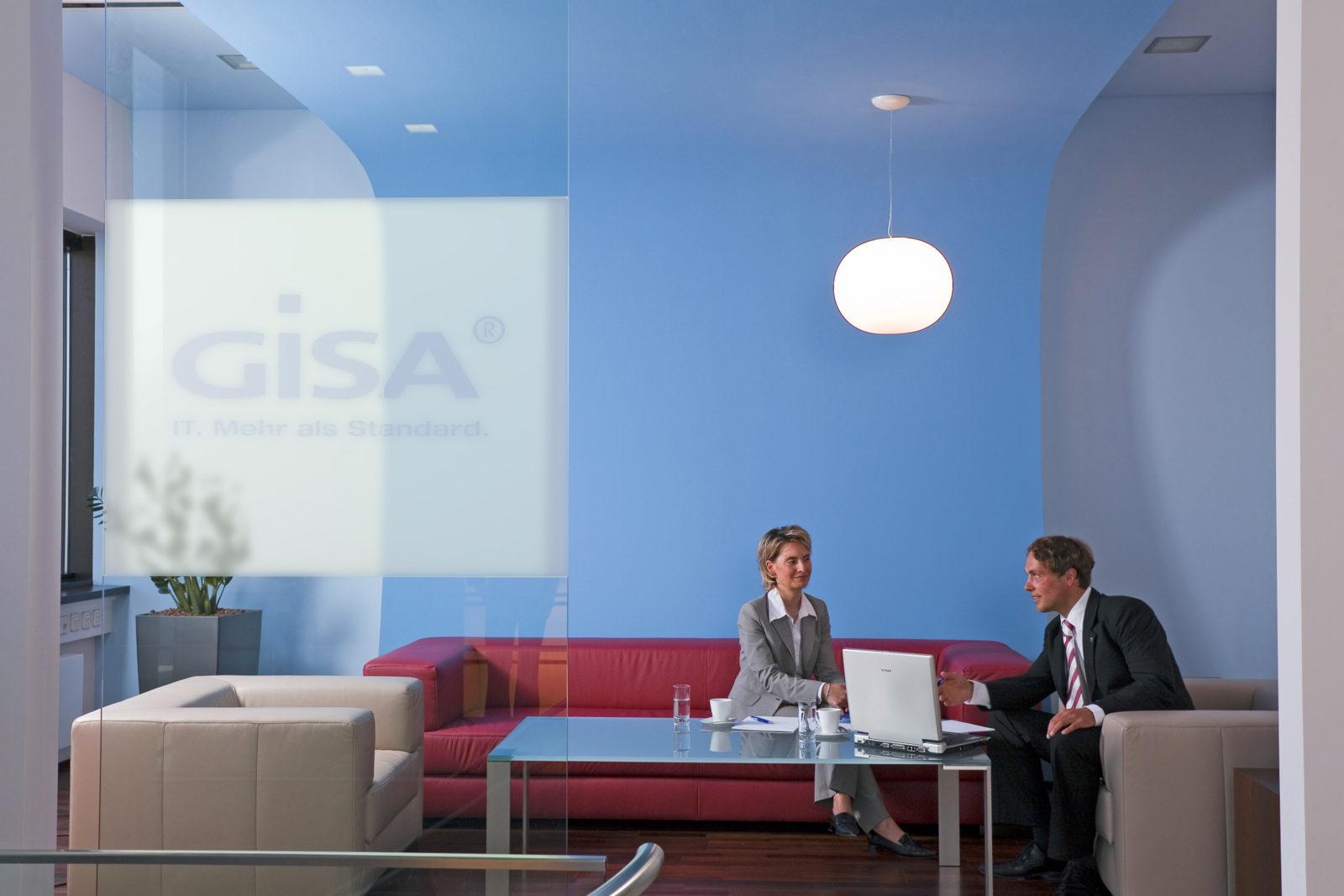 Neugestaltung Geschäftsräume GiSA GmbH in Halle - Lounge