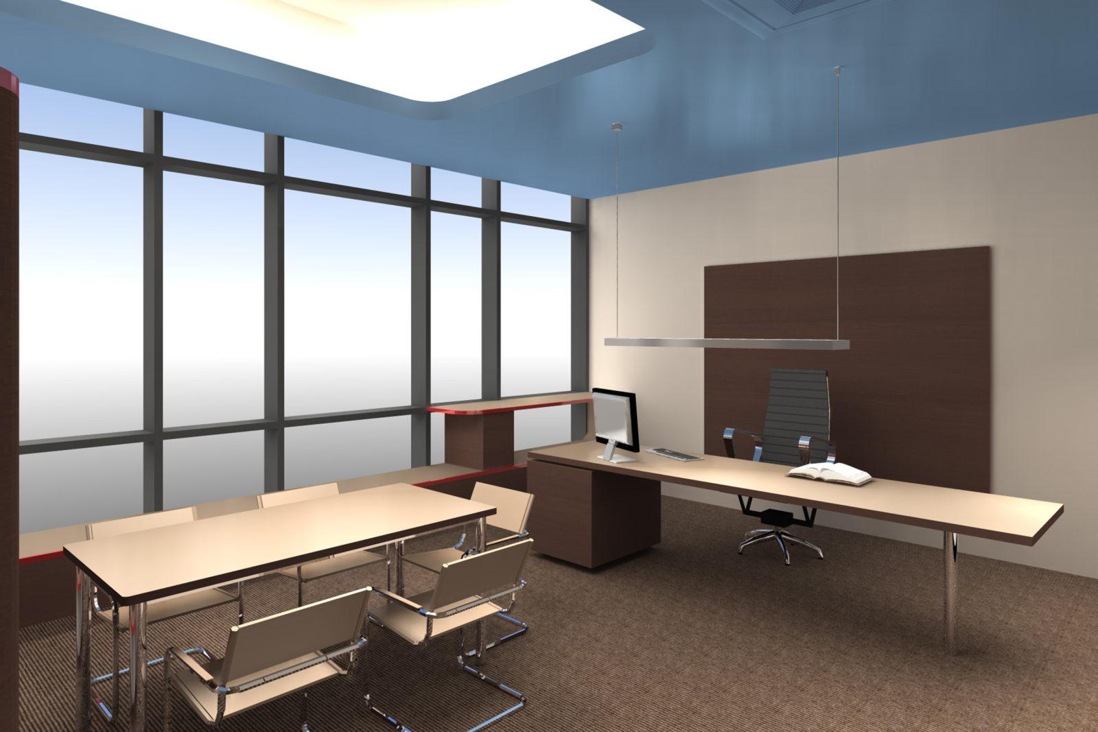 Neugestaltung Geschäftsräume GiSA GmbH in Halle - Arbeitsraum