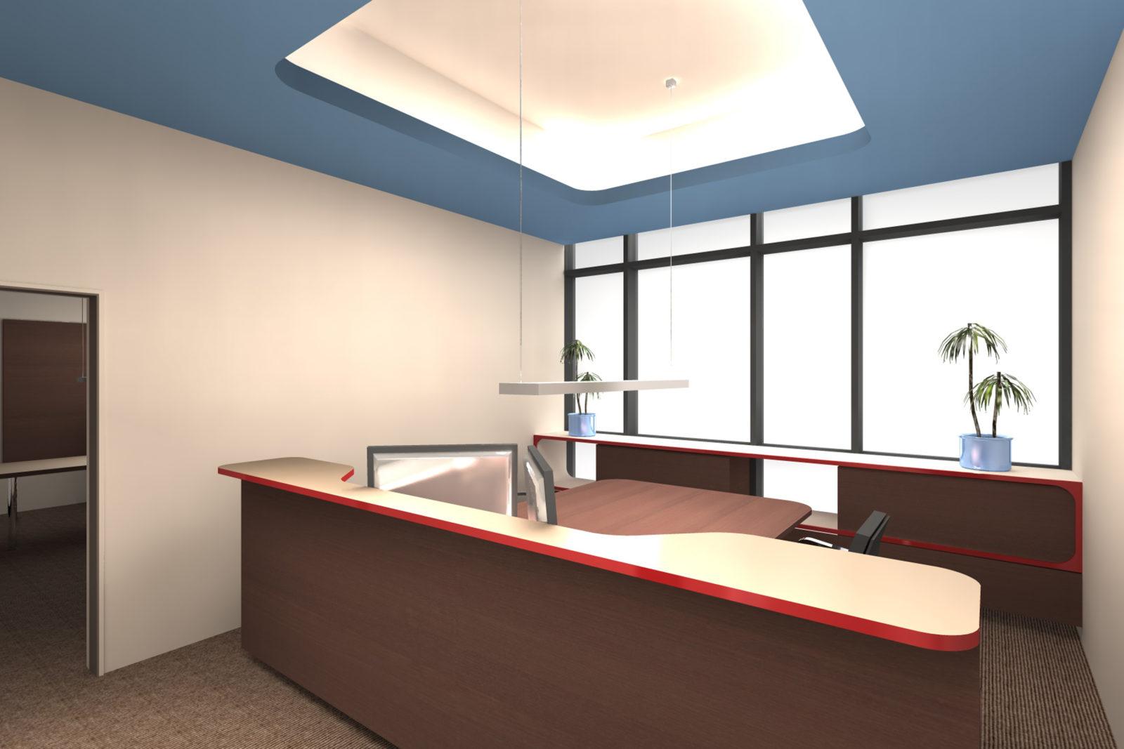 Neugestaltung Geschäftsräume GiSA GmbH in Halle - Sekretariat