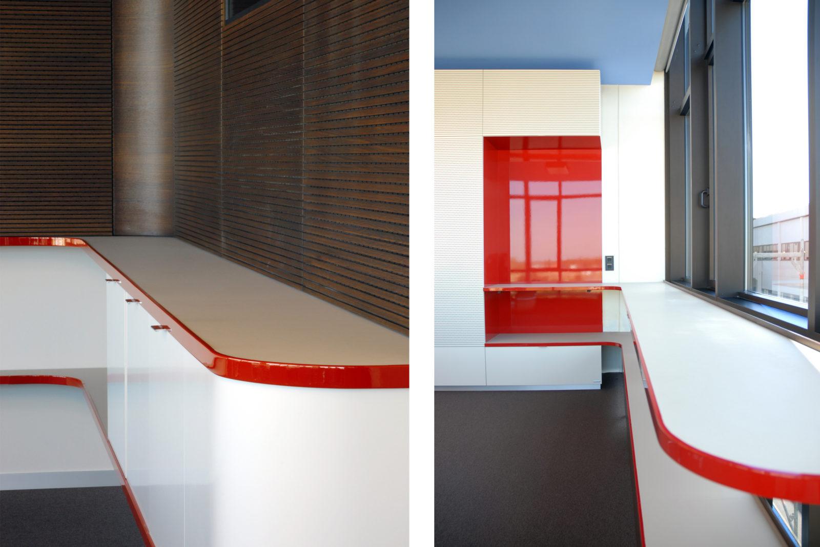 Neugestaltung Geschäftsräume GiSA GmbH in Halle - Detail Konferenzraum