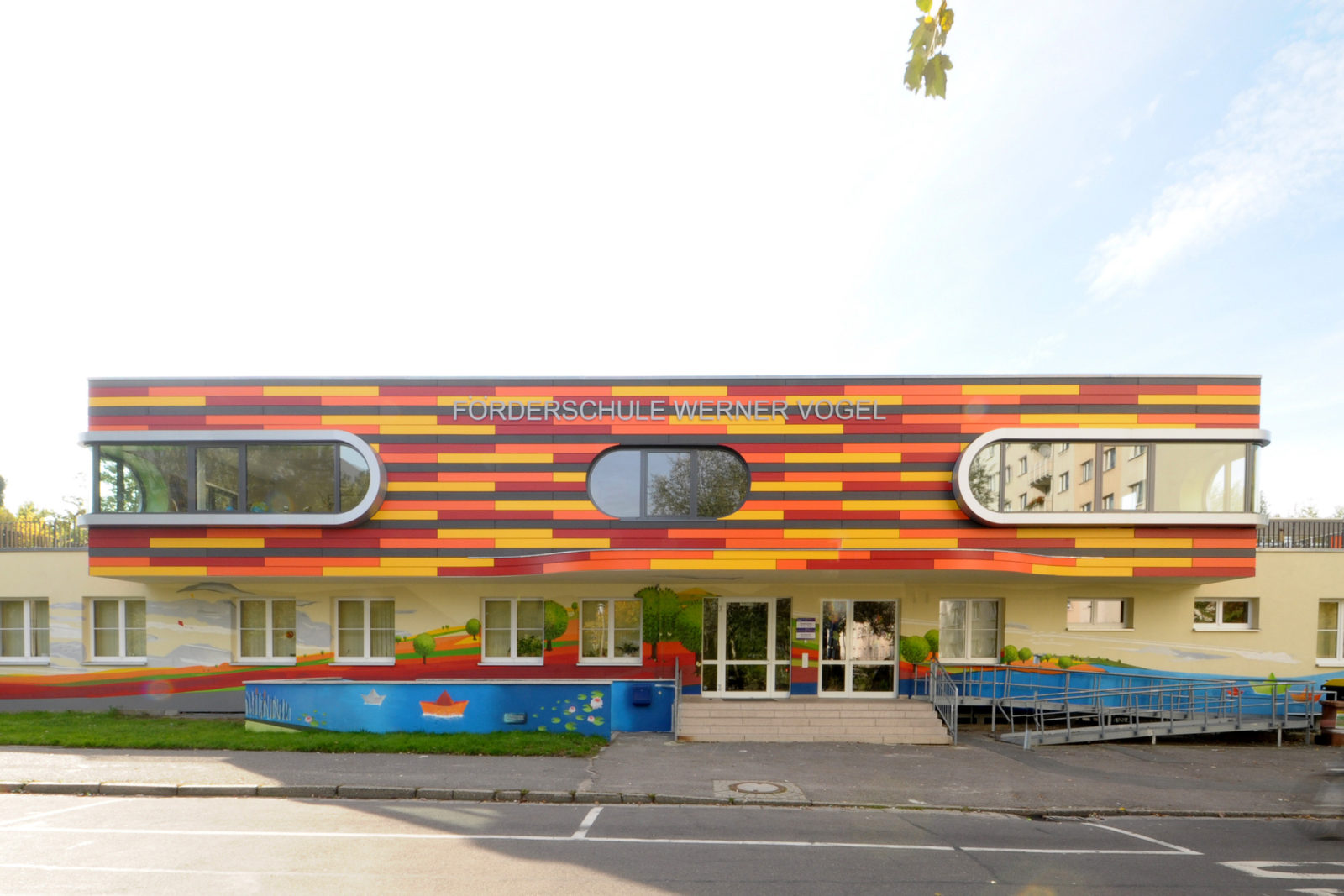 Umbau Werner-Vogel-Schule Leipzig, Lößnig - Eingangsbereich