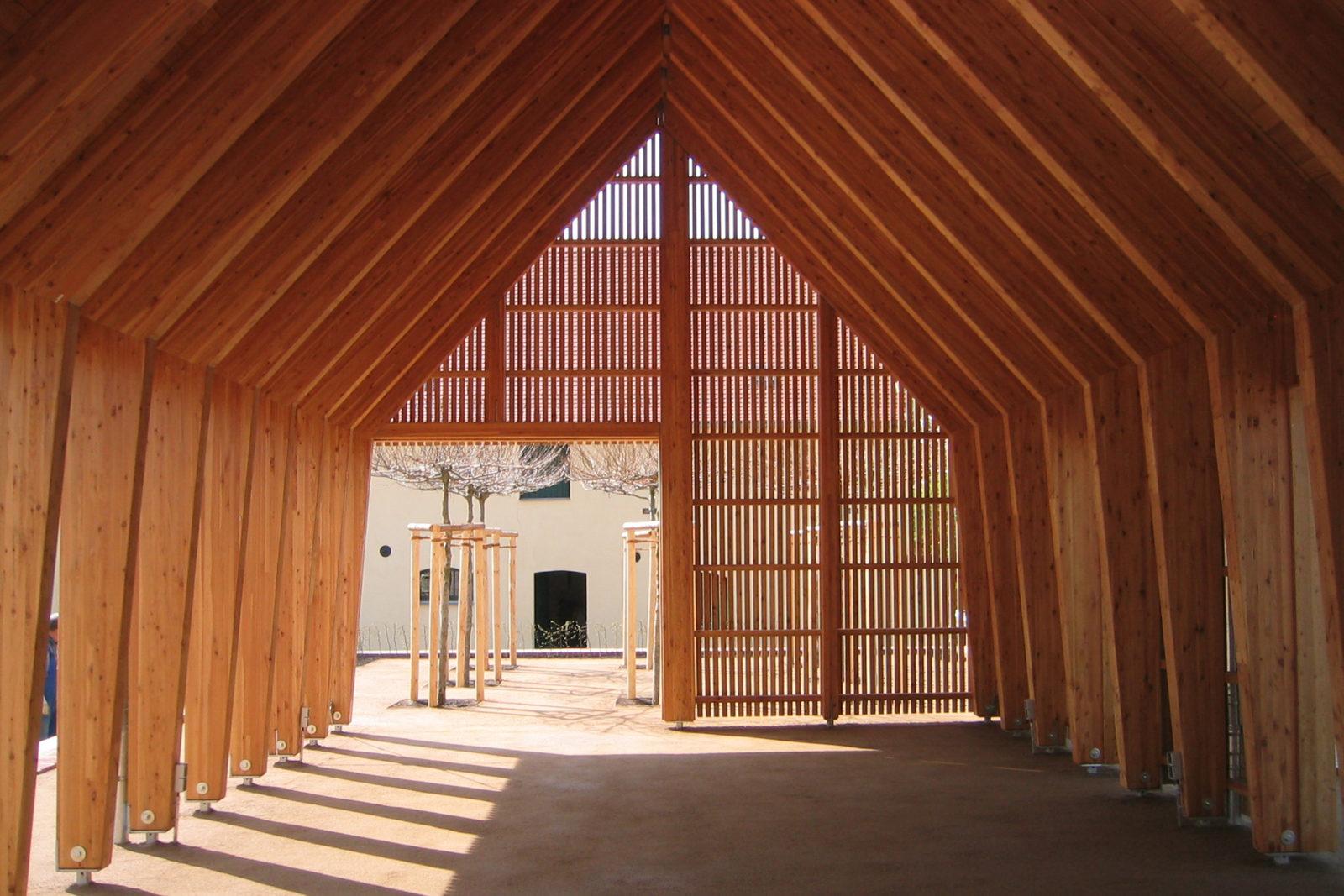 Pavillon im Park Canitz - Innenraum