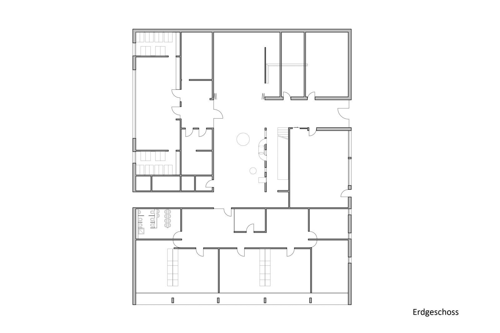 Wettbewerb Kinderhaus Struppen - Erdgeschoss