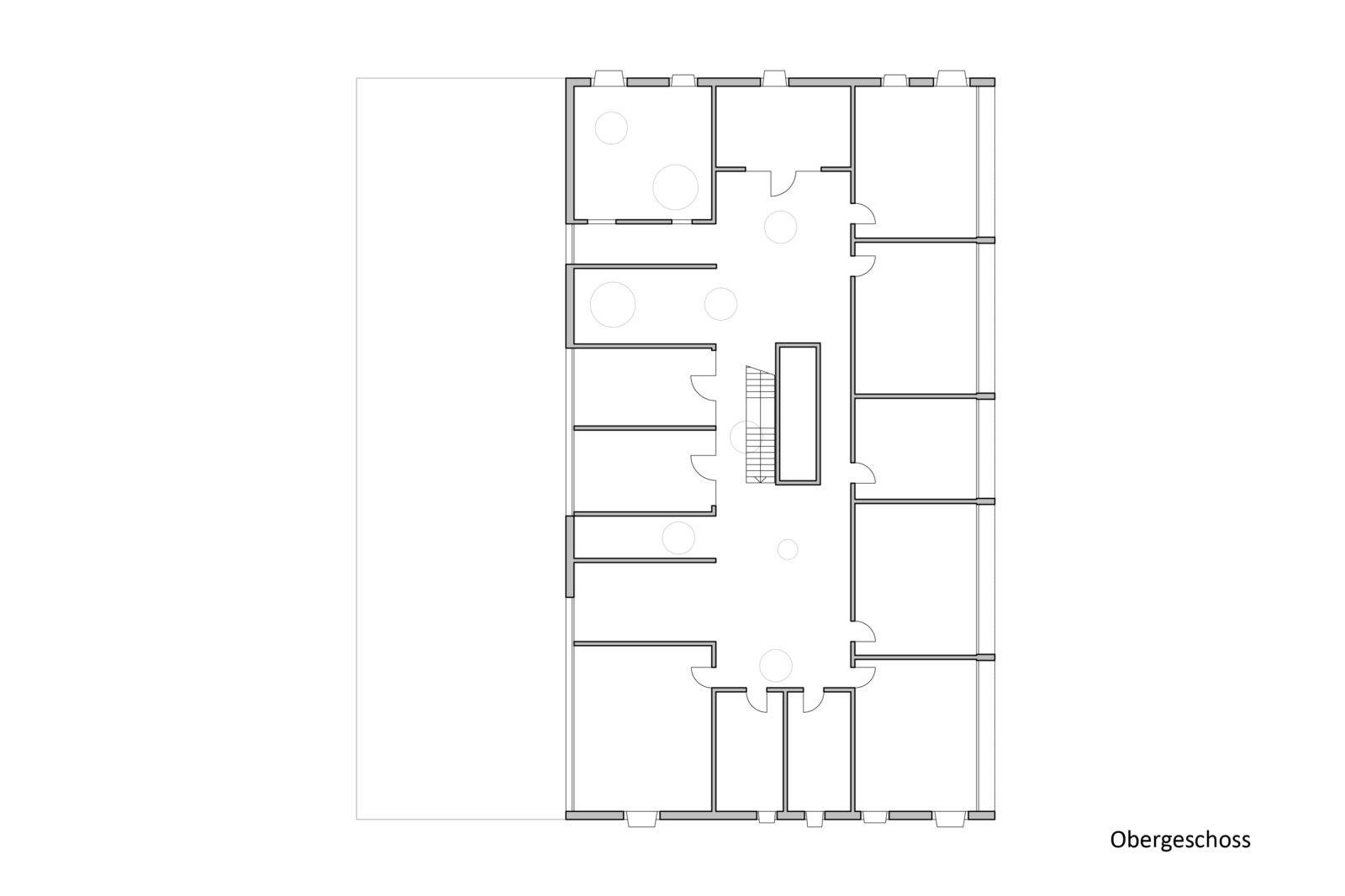 Wettbewerb Kinderhaus Struppen - Obergeschoss