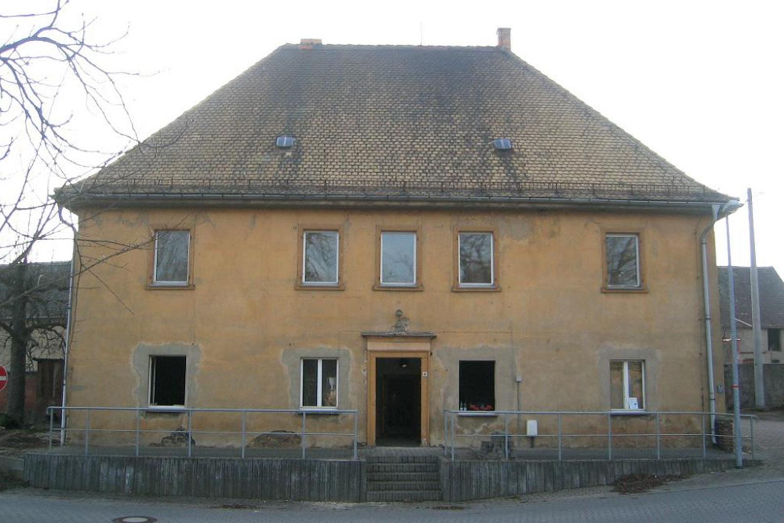 Umbau und Sanierung Baudenkmal Rentmeisterhaus in Püchau - Bestand vor der Sanierung