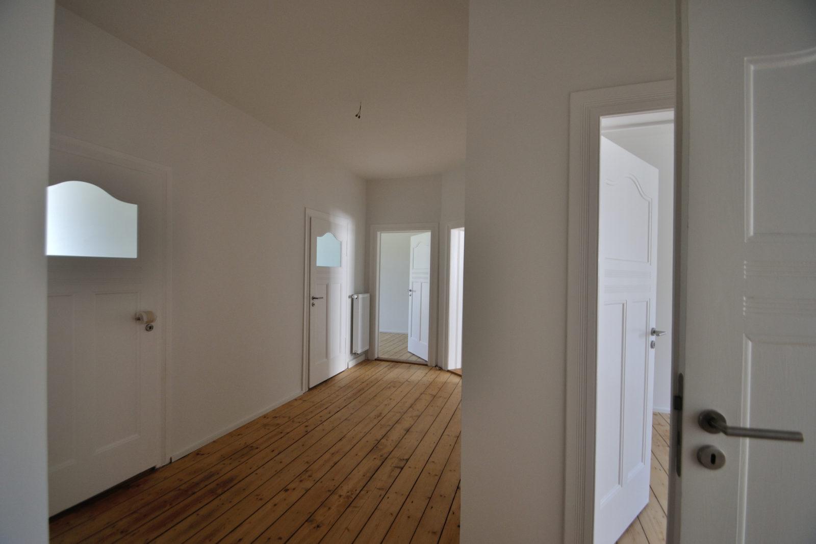Umbau und Sanierung Mehrfamilienhaus in Leipizg, Plagwitz - Flur