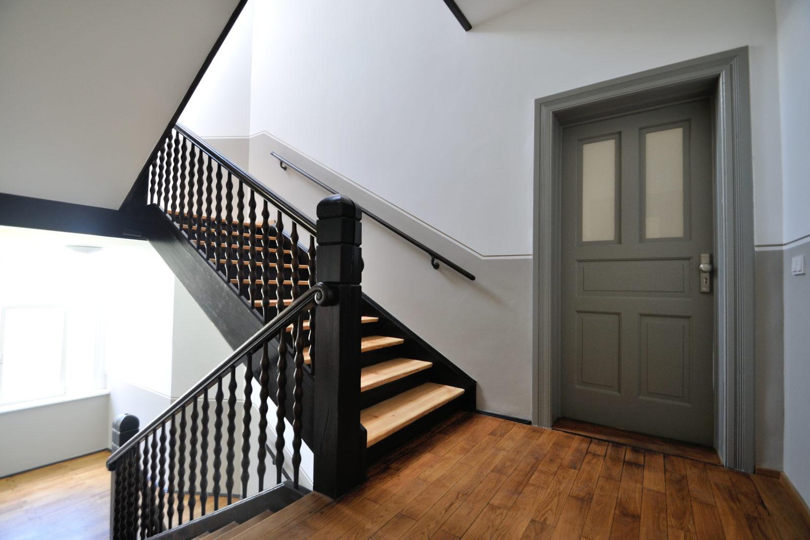 Umbau und Sanierung Mehrfamilienhaus in Leipizg, Plagwitz - Treppenhaus