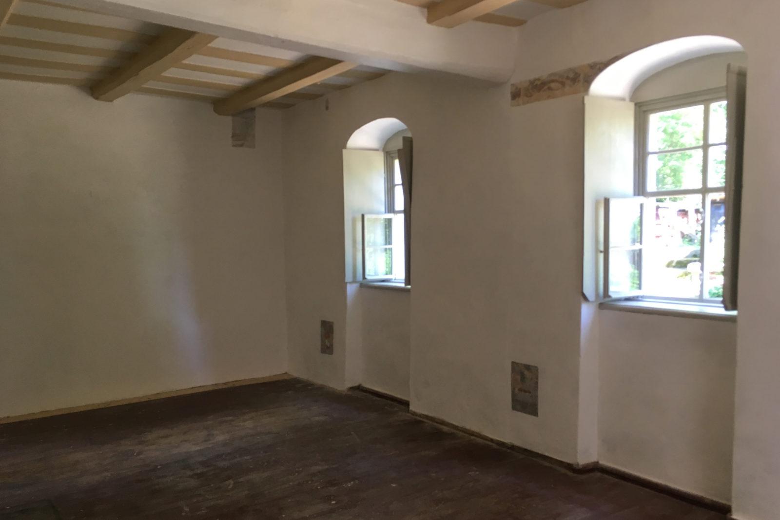 Sanierung Konfirmandenhaus Püchau - Innenraum