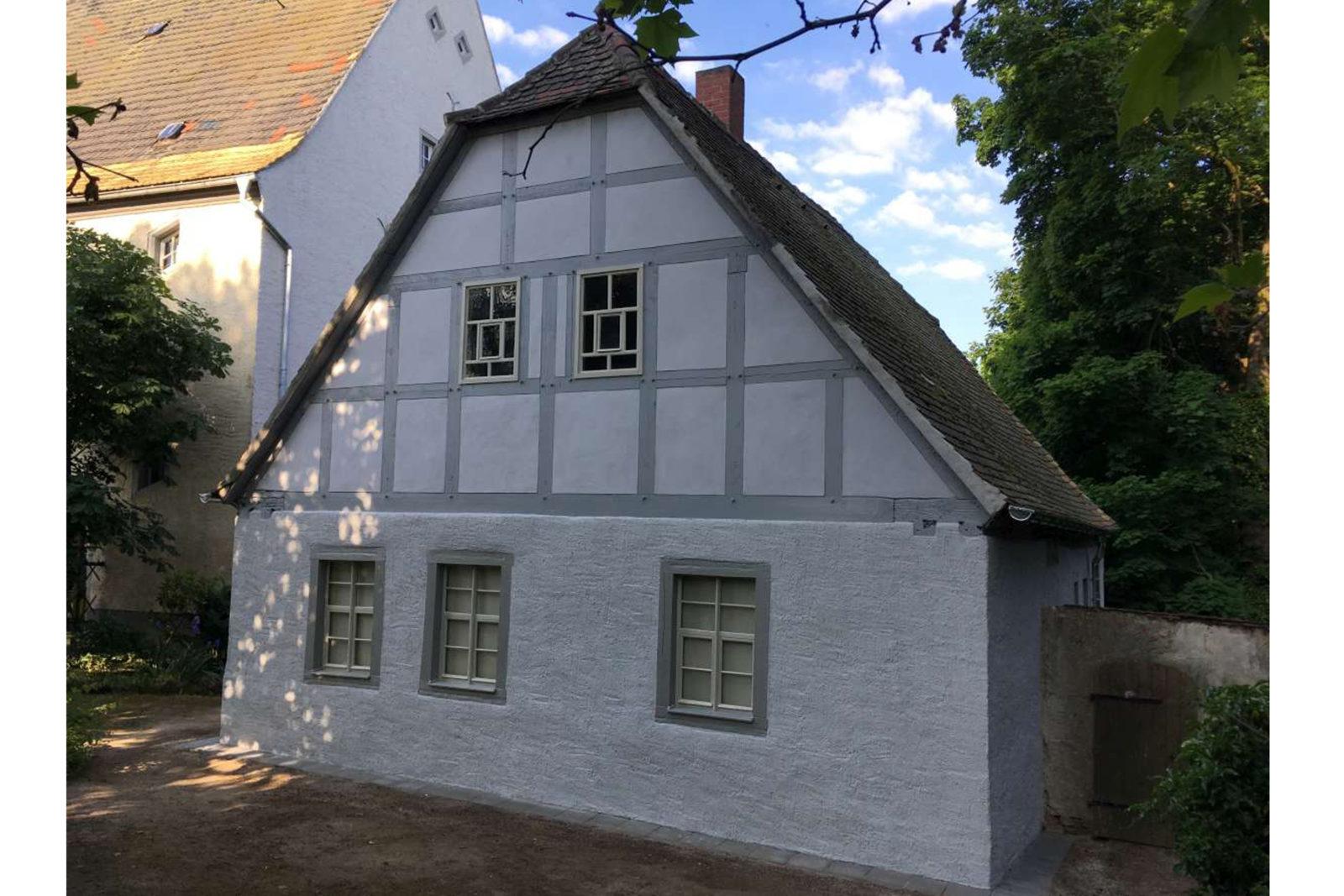 Sanierung Konfirmandenhaus Püchau - Ansicht Giebel