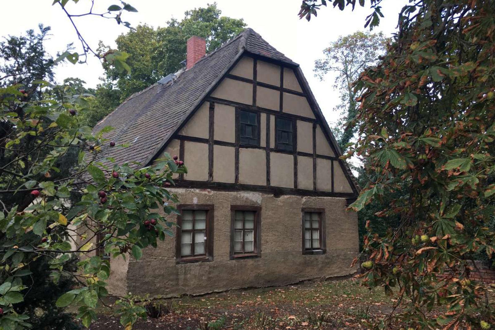 Sanierung Konfirmandenhaus Püchau - Bestand vor der Sanierung