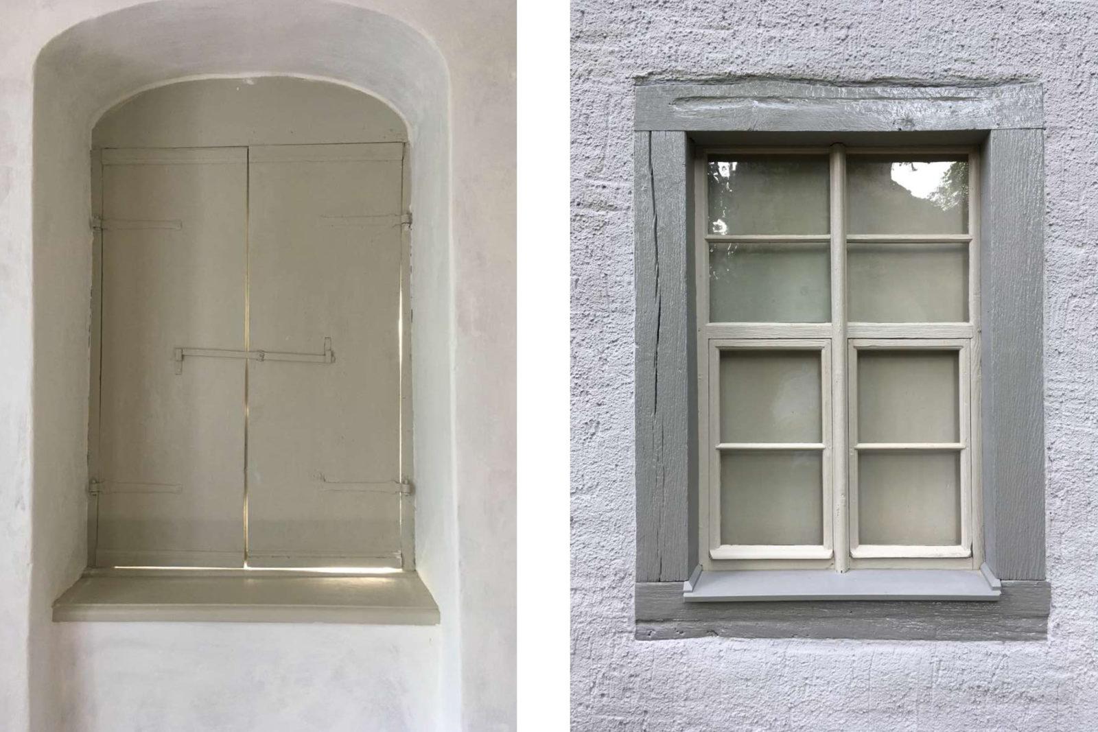 Sanierung Konfirmandenhaus Püchau - Fensterdetail