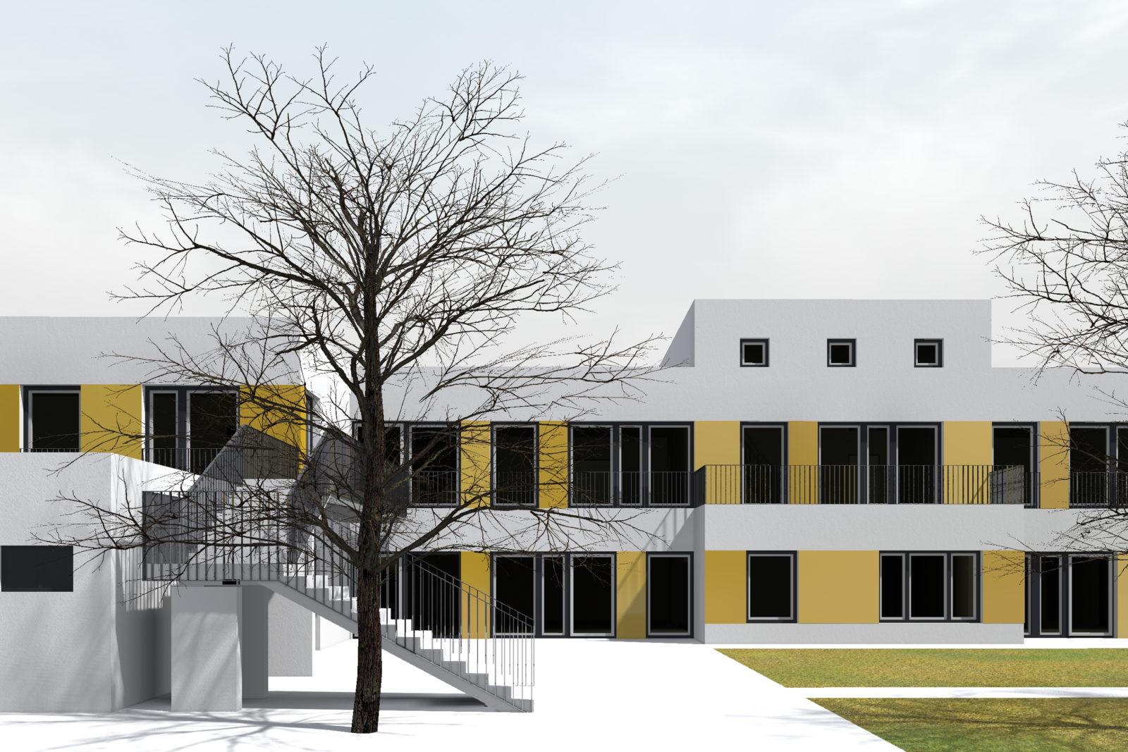 Neubau Kita Bremerstraße in Leipzig, Gohlis - Freispielfläche