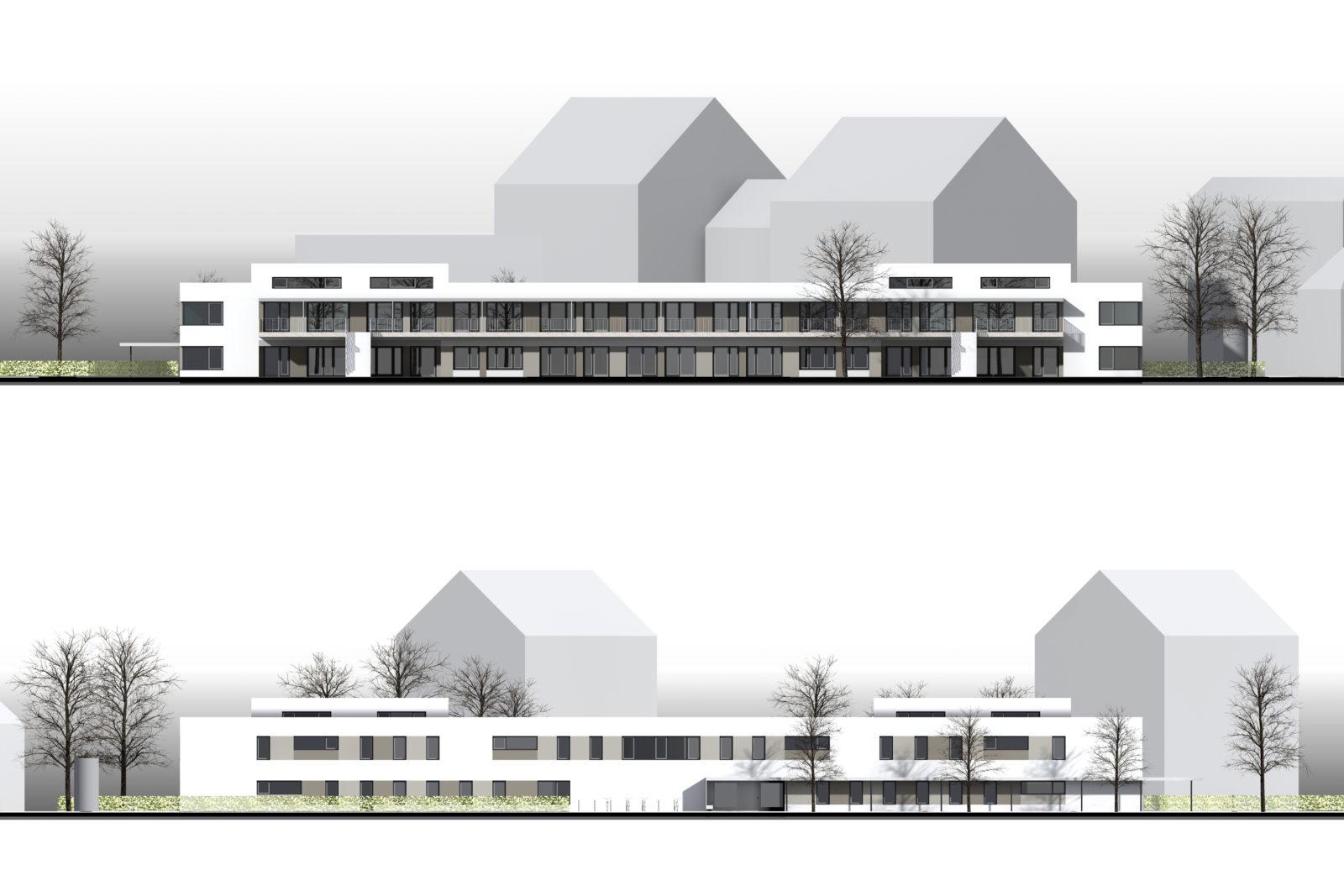 Neubau Kita Ludolf-Colditz-Straße in Leipzig, Stötteritz - Ansichten