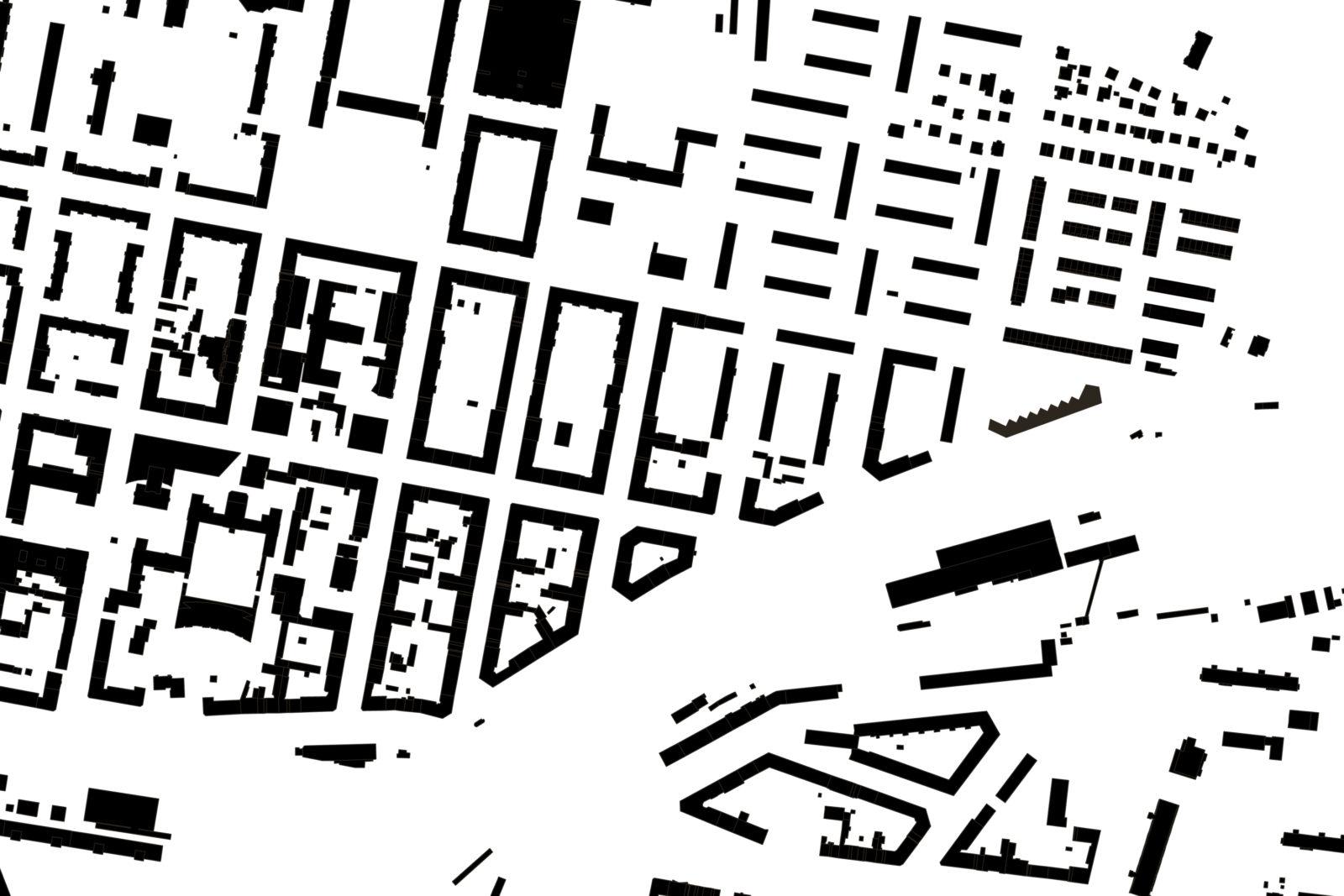 1905 Kita Gudrunnstrasse Berlin, Lichtenberg - Schwarzplan