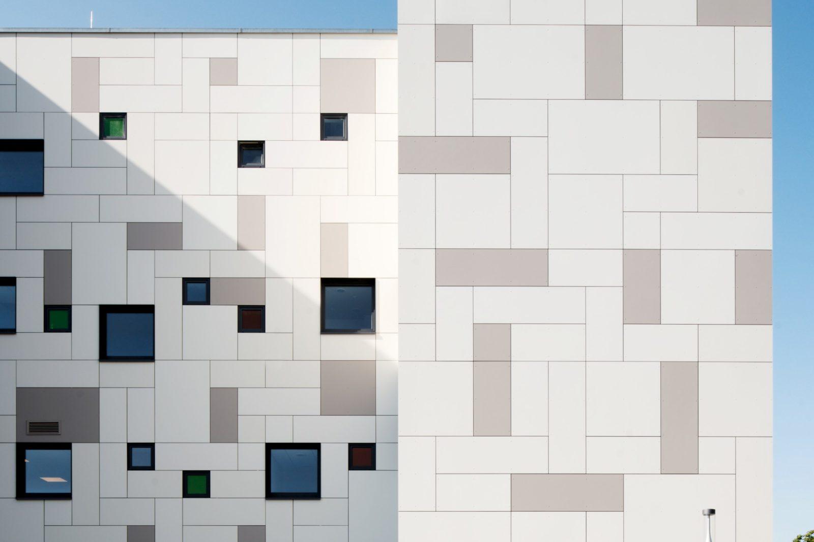 Neubau Kita und Förderschule an der alten Messe, Leipzig - Detailansicht