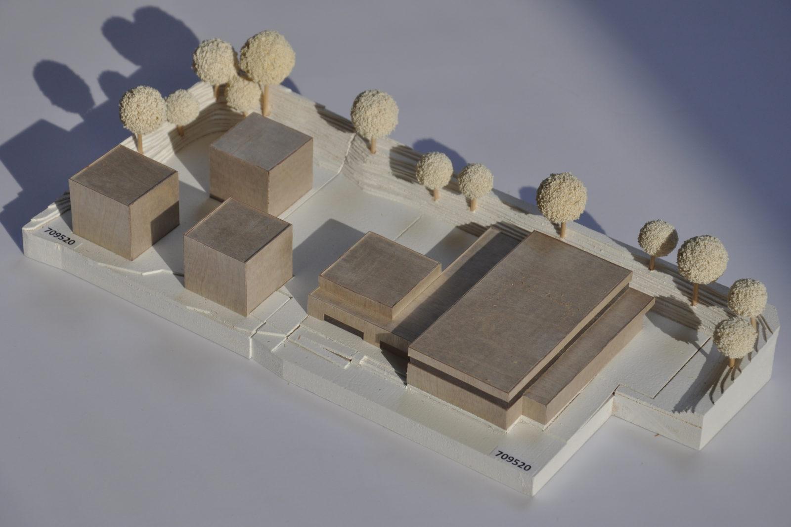Neubau Sporthalle Pirmasens - Modell