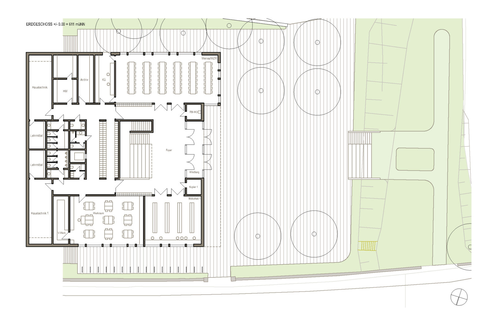 Oberschule Geyer Erdgeschoss