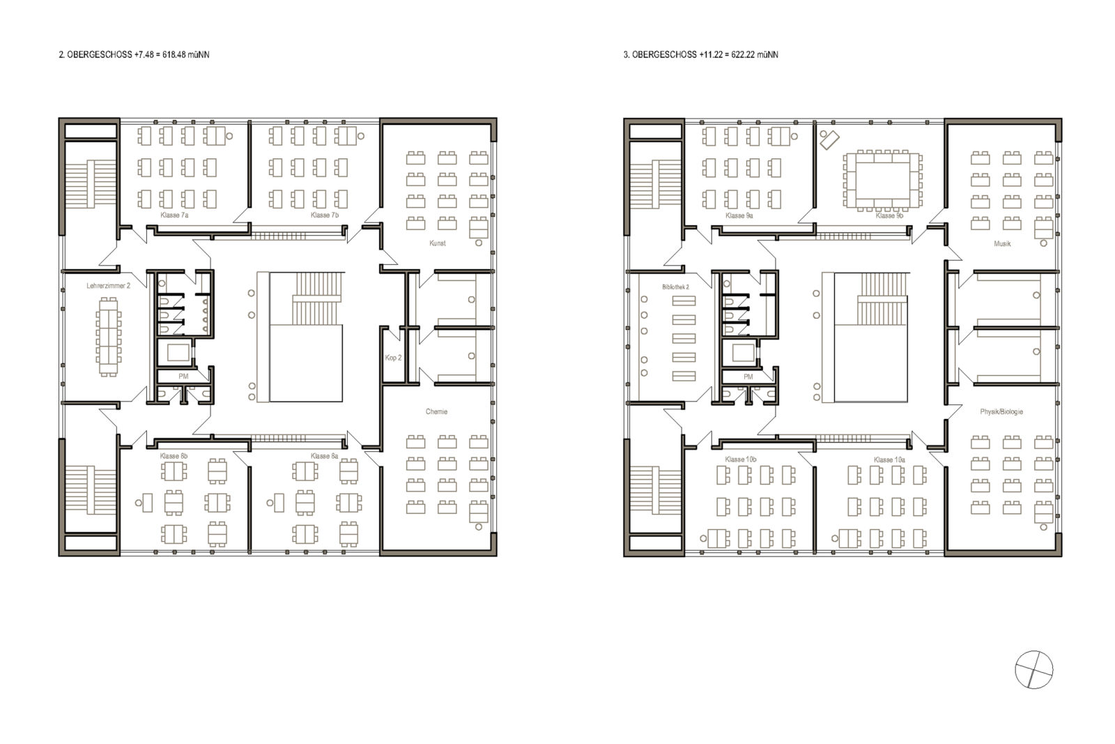 Oberschule Geyer 2., 3. Obergeschoss